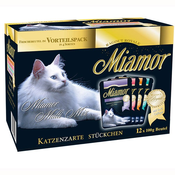 Miamor Ragout Royale Multi-Mix Sauce 12x100g