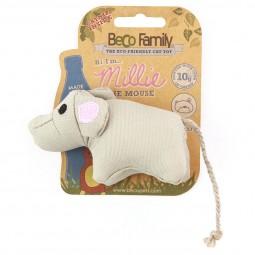 Beco Pets Kuschelspielzeug Maus mit Katzenminze