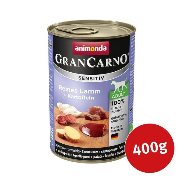 Animonda Hunde Nassfutter Grancarno Sensitiv Lamm & Kartoffel