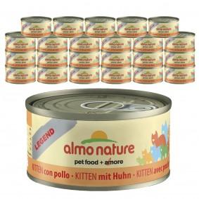 Almo Nature Legend Katzenfutter 24x70gKitten Huhn