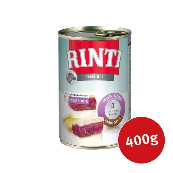 Rinti Hundefutter Sensible Gans und Kartoffel -...