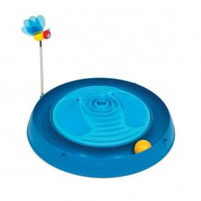 Catit Play 3in1 Circuit Ball Spielzeug mit Katzenminze-Massagebürsten
