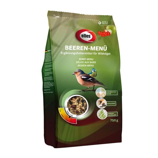 """elles Wildvogel-Streufutter """"Beeren-Menü"""" 750 g"""