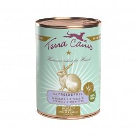 Terra Canis getreidefrei Kaninchen mit Zucchini, Aprikose & Borretsch