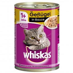 Whiskas Adult 1+ mit Geflügel in Sauce 12x400g