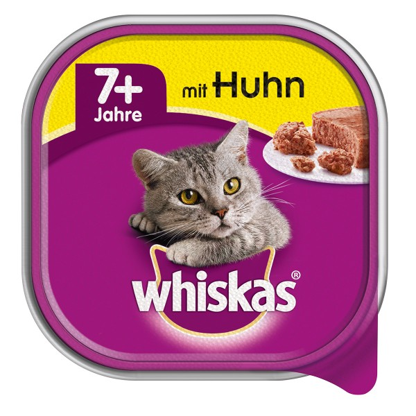 Whiskas Senior 7+ mit Huhn 32x100g