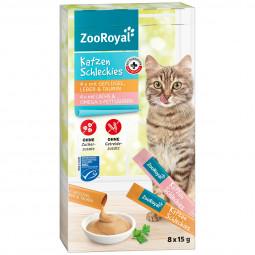 ZooRoyal Katzenschleckies Geflügel, Leber & Lachs