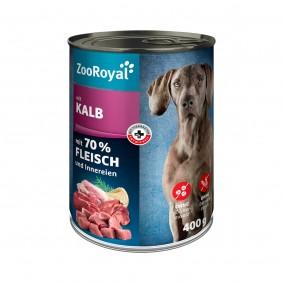 ZooRoyal Hunde-Nassfutter mit Kalb