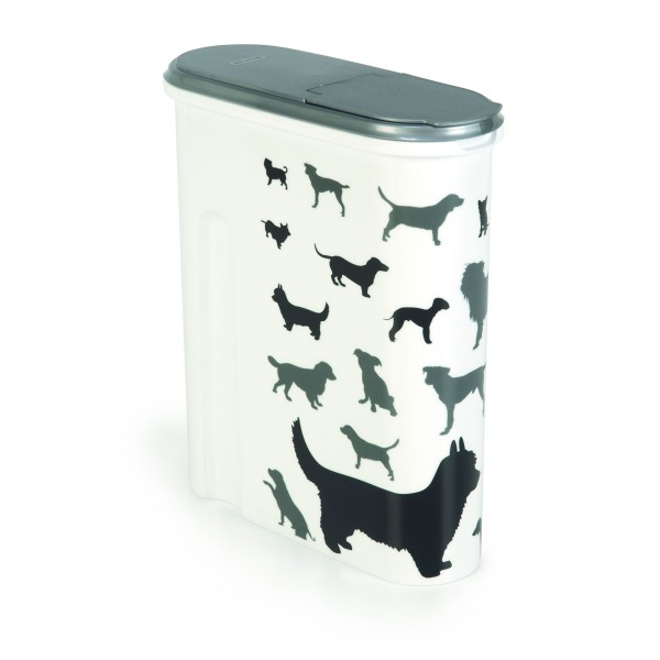 Curver Futtercontainer Silhouette Hund 4,5L