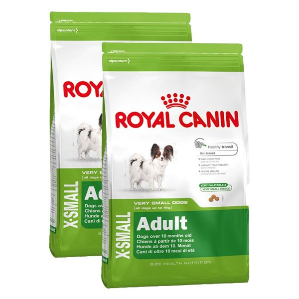 royal canin hundefutter x small adult 2x3kg f r kleine hunde. Black Bedroom Furniture Sets. Home Design Ideas