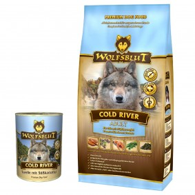 Wolfsblut Cold River 15kg+395g Cold River