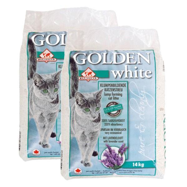 Golden White mit Lavendelduft 2x14kg