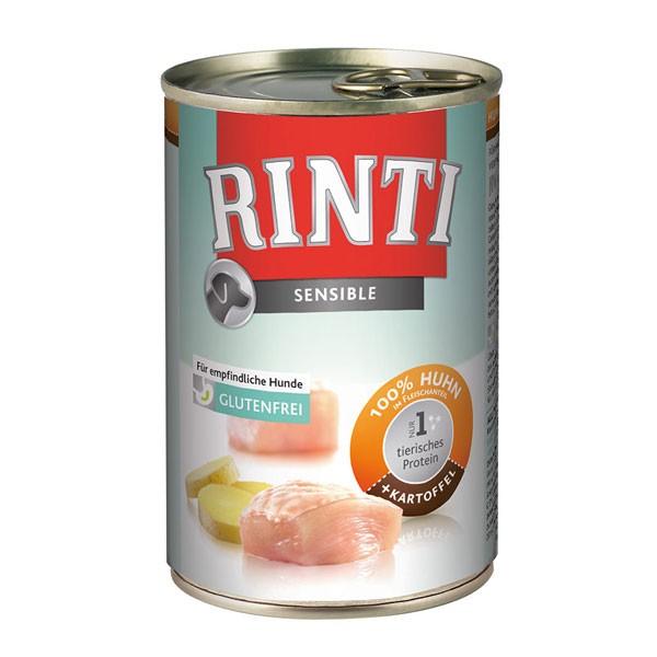 Rinti Hunde-Nassfutter Sensible Huhn und Kartoffel 400g