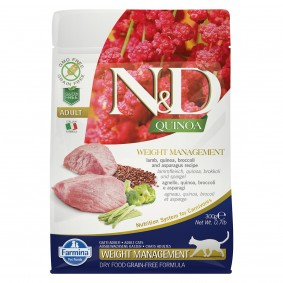 N&D Cat Quinoa Weight Management Lamb