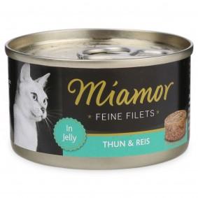 Miamor Katzenfutter Feine Filets in Jelly Thunfisch und Reis