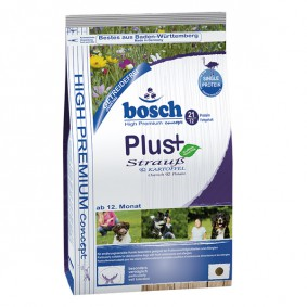 Bosch PLUS Hunde-Trockenfutter Strauß & Kartoffel