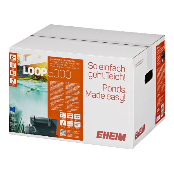 Eheim Teichfilter Loop5000 plus Base 250 gratis