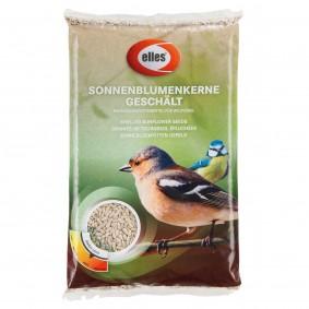 elles krmivo pro volně žijící ptactvo, loupaná slunečnicová semena