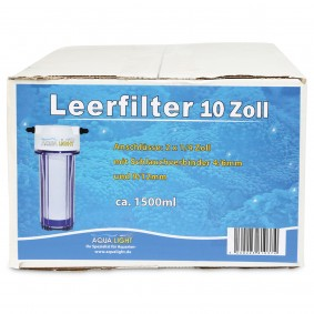 Aqualight Leerfilter