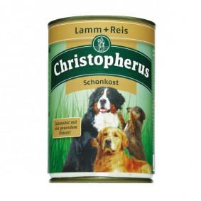 Christopherus Hunde-Nassfutter: Schonkost aus Lamm und Reis