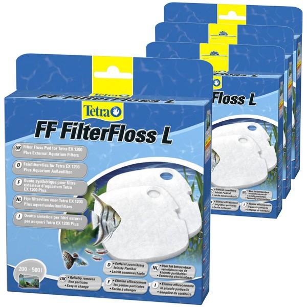Tetra FF Feinfiltervlies EX 1200 4er Pack
