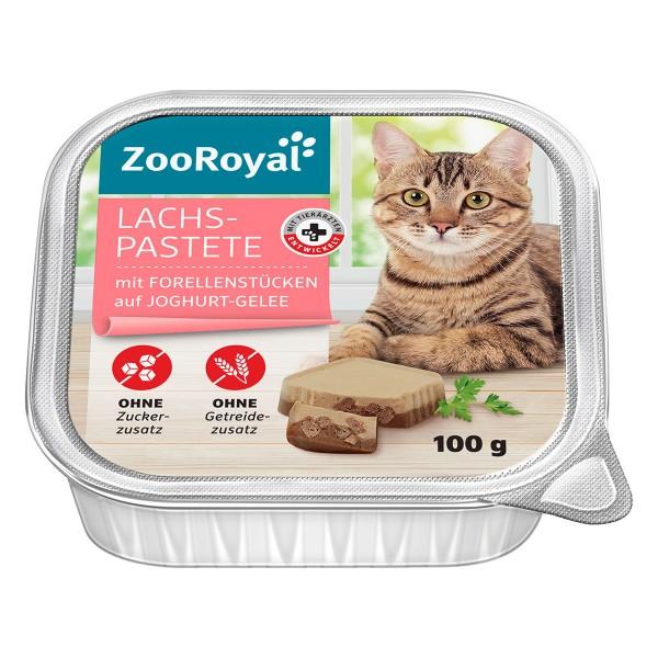ZooRoyal Lachspastete