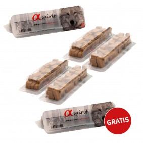 alpha spirit Hundesnack gewürfelt Käse 5+1 gratis