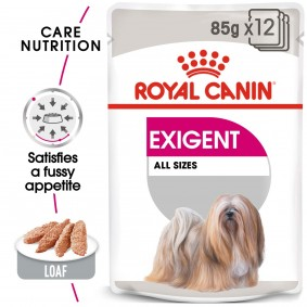 ROYAL CANIN EXIGENT Nassfutter für wählerische Hunde 12x85g