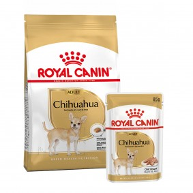 ROYAL CANIN Chihuahua Adult 3kg + Nassfutter 12x85g