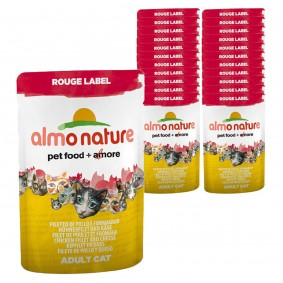 Almo Nature Rouge Label Wet 24x55g