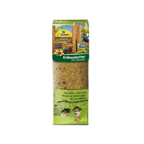 JR Farm Peanut Bar Erdnussbutter mit Holunder 350g