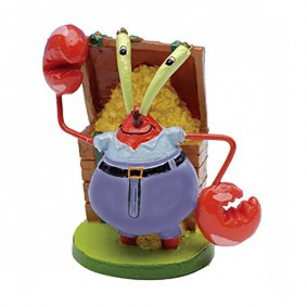 Bob l'éponge Décoration d'aquarium Figurine M. Krabs