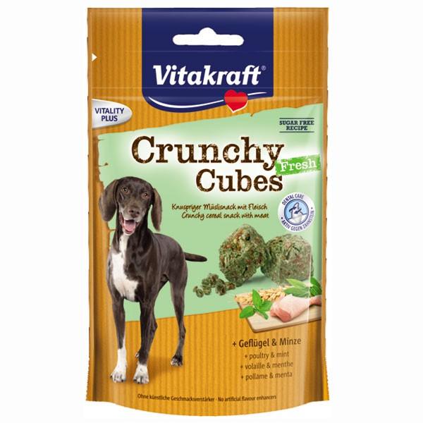 Vitakraft Hundesnack Crunchy Cubes Fresh Geflügel und Minze