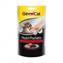 GimCat Nutri Pockets Rind + Malz 60g