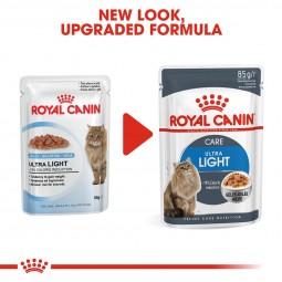 ROYAL CANIN Ultra Light Nassfutter in Gelee für übergewichtige Katzen 48x85g