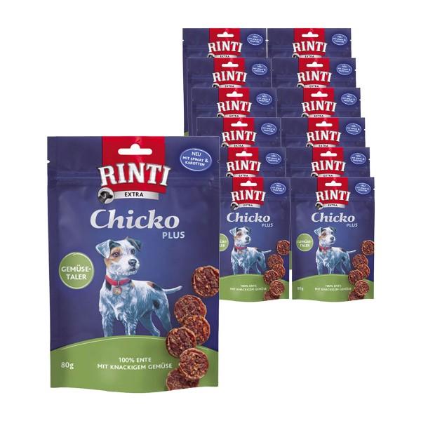 Rinti Extra Hundesnack Chicko Plus Ente & Gemüse 12x80g