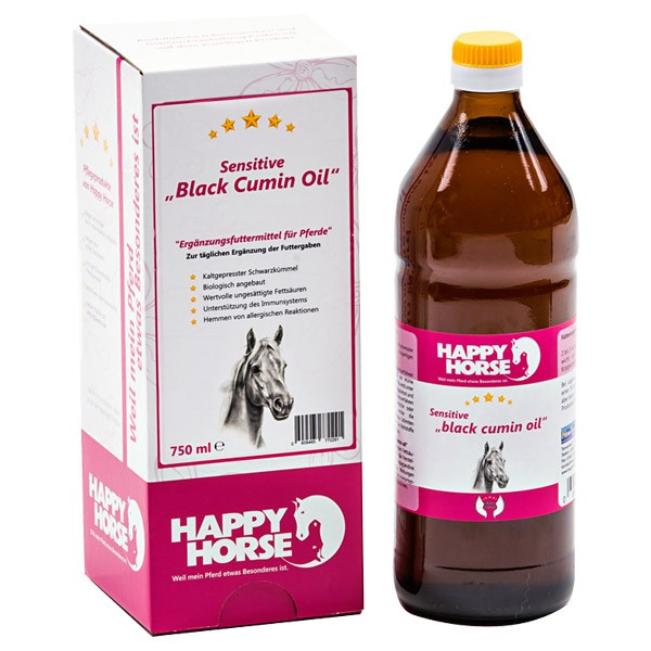 Happy Horse Sensitive Black Cumin Oil - 2 x 750ml