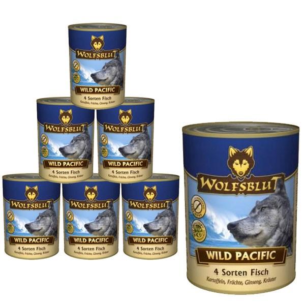 Wolfsblut Wild Pacific mit 4 Sorten Fisch
