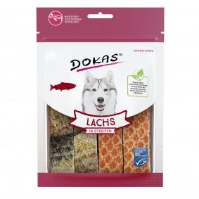 Dokas Lachs in Streifen 100g