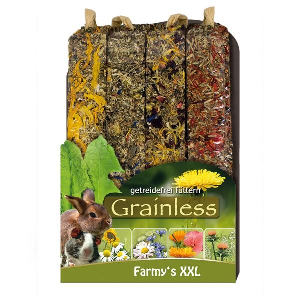 JR Farm Nagersnack Grainless Farmys XXL 4er-Pack 450g