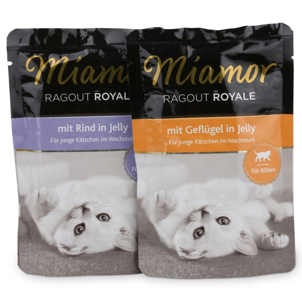 Miamor Ragout Royale in Jelly Multibox Kitten 12x100g
