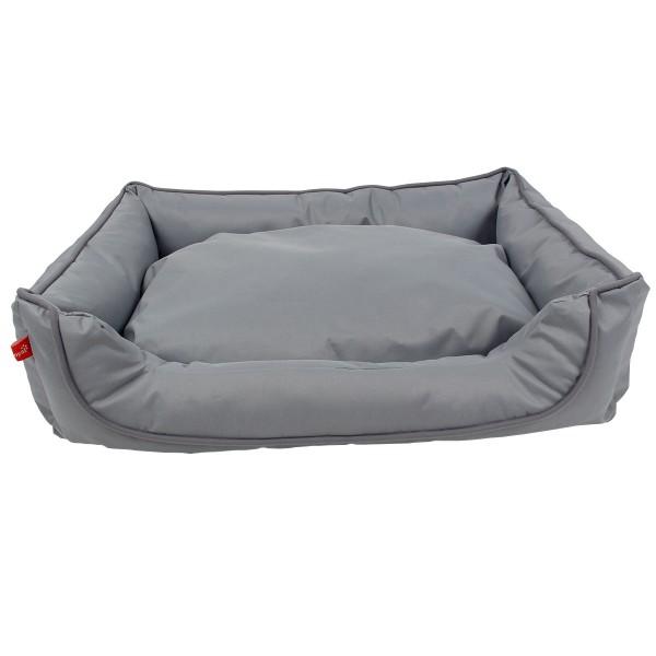 ZooRoyal Komfortbett Hakon grau/schwarz - 65x50x20 cm