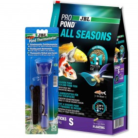 JBL ProPond All Seasons S 5,8kg + Thermometer Gratis