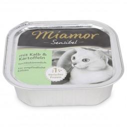 Miamor Katzenfutter Sensibel Kalb und Kartoffel