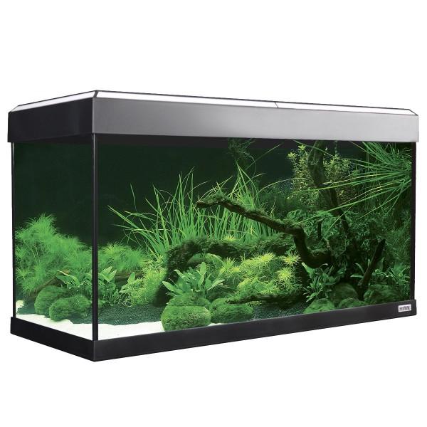 Fluval Aquarium Roma 125 mit Dekorstreifen - Weiß