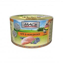 MAC's Cat Katzenfutter Fleischmenü Pute & Heidelbeeren