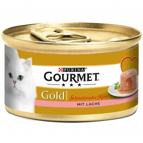 Gourmet Gold Schmelzender Kern mit Lachs 9+3 GRATIS