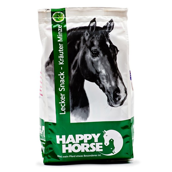 Happy Horse Lecker Snacks 7 x 1kg - Kräuter Minze