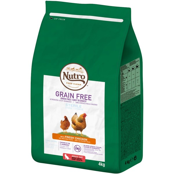 Nutro Grainfree Adult Sterilized Huhn