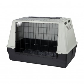 Trixie Traveller 100 Hundebox grau/schwarz